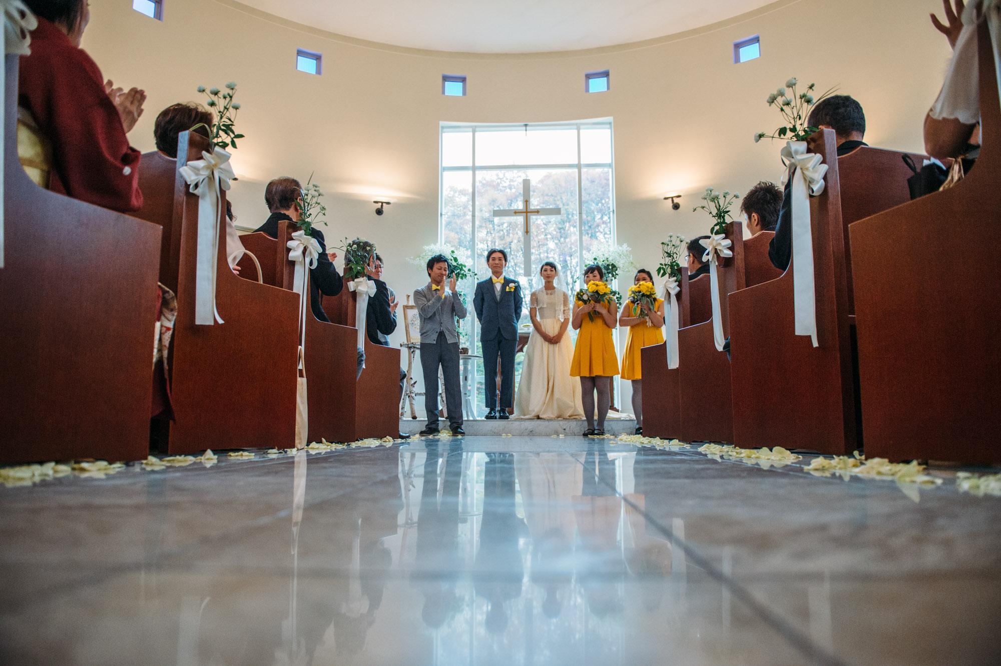 軽井沢結婚式124