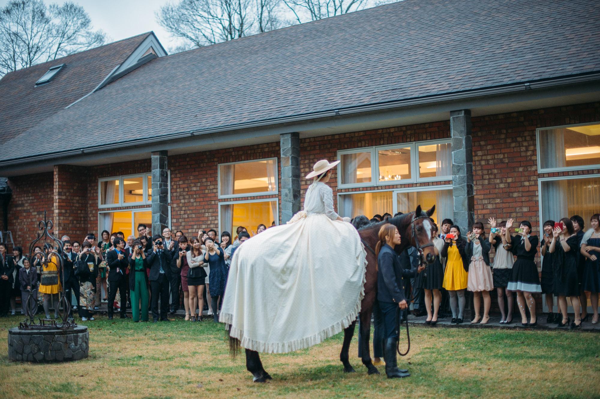 軽井沢結婚式157
