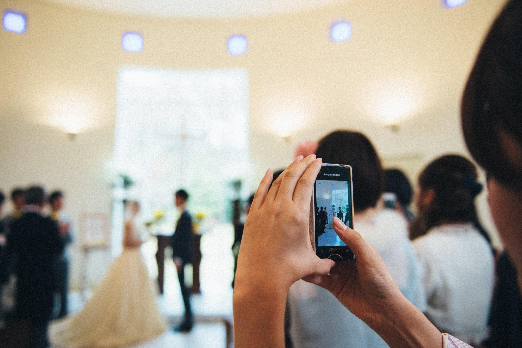 軽井沢結婚式105