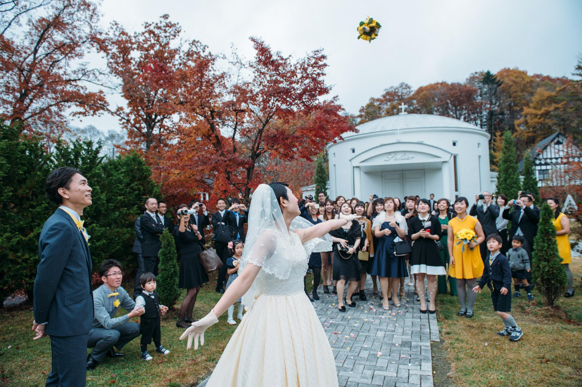軽井沢結婚式132