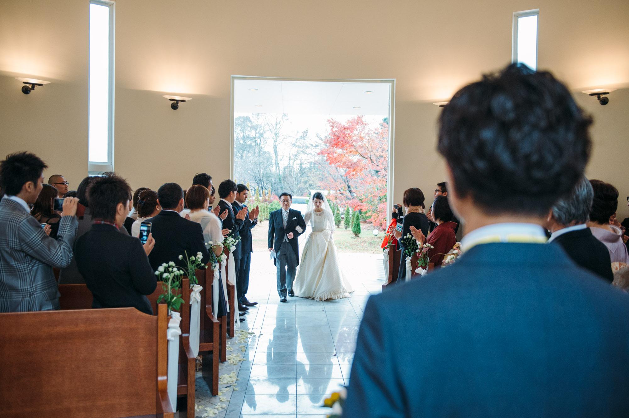 軽井沢結婚式99