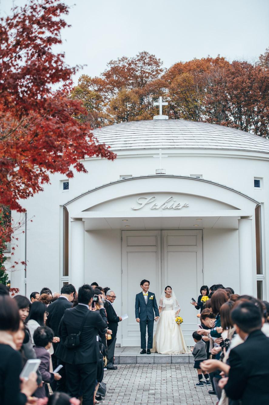 軽井沢結婚式127
