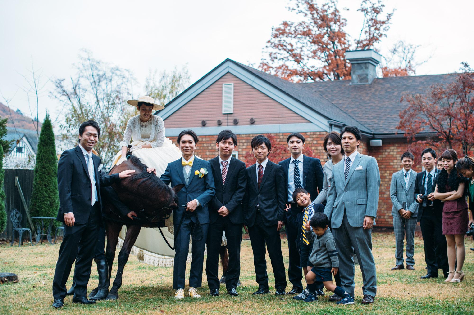 軽井沢結婚式161