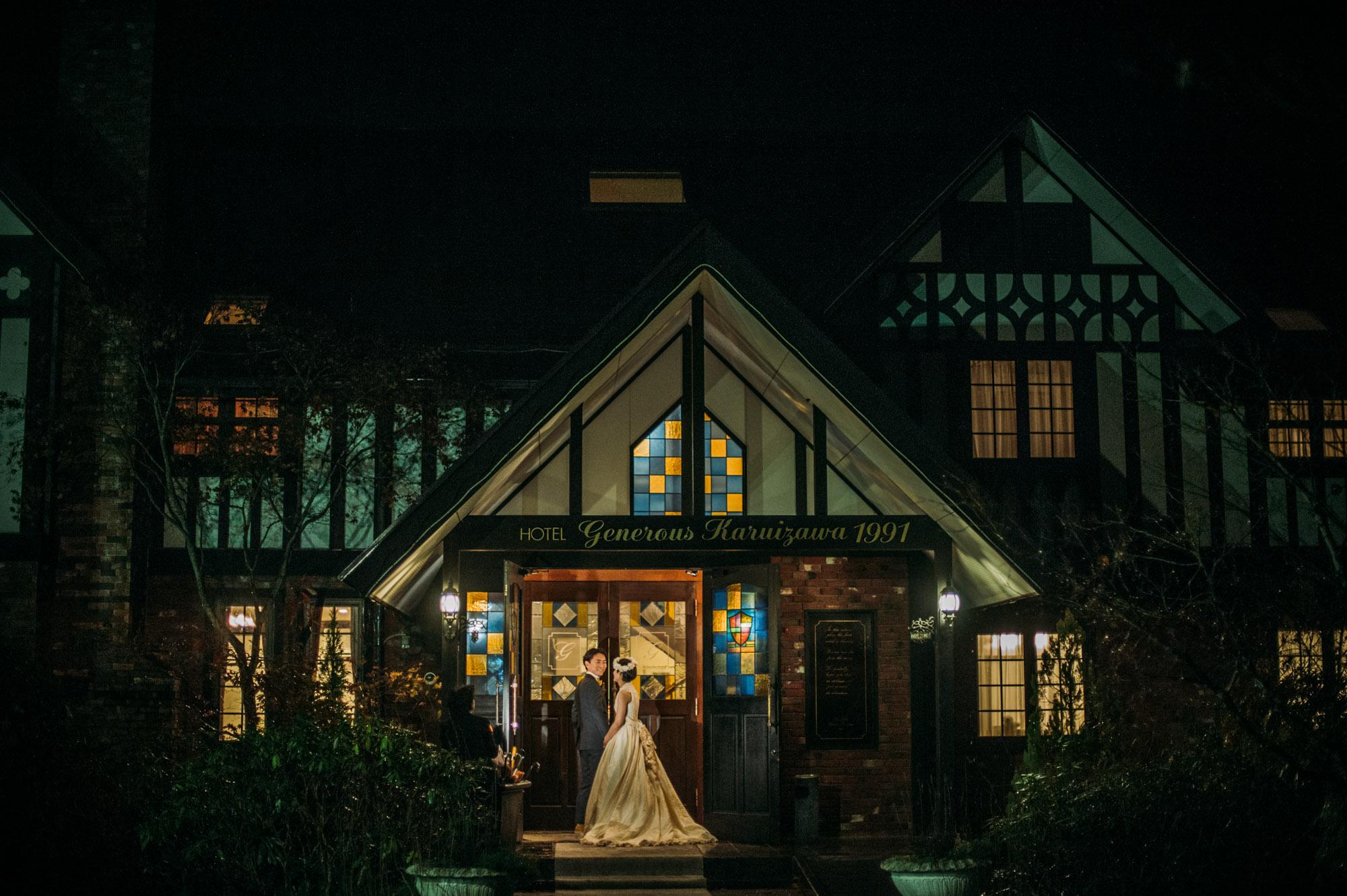 軽井沢結婚式283