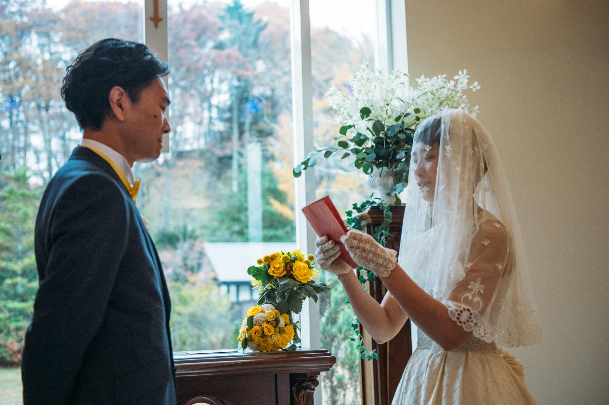 軽井沢結婚式107