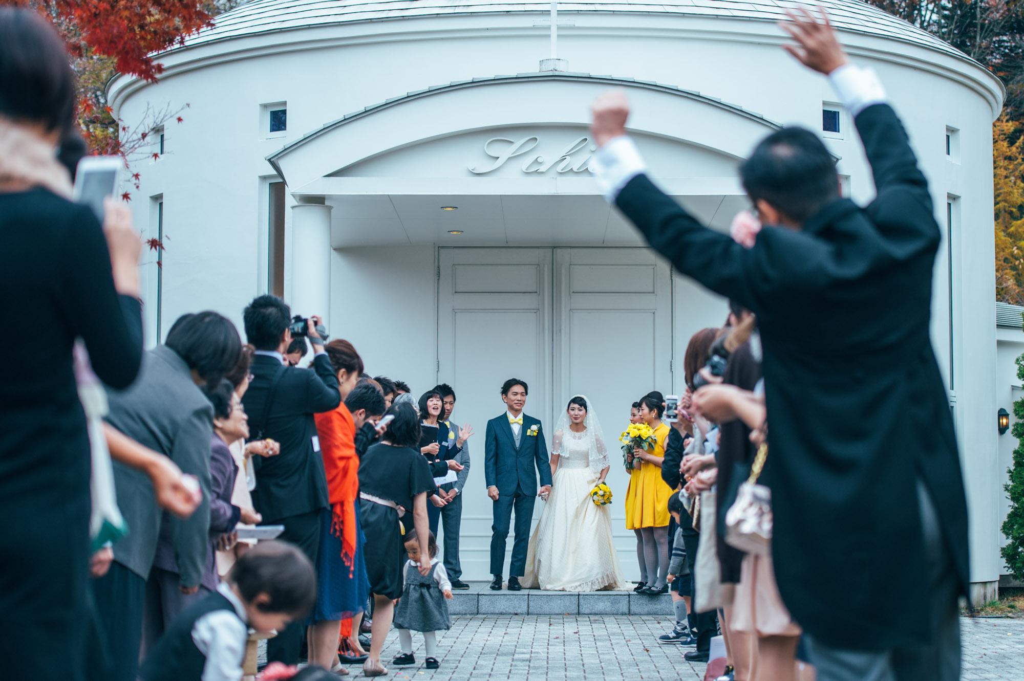 軽井沢結婚式128