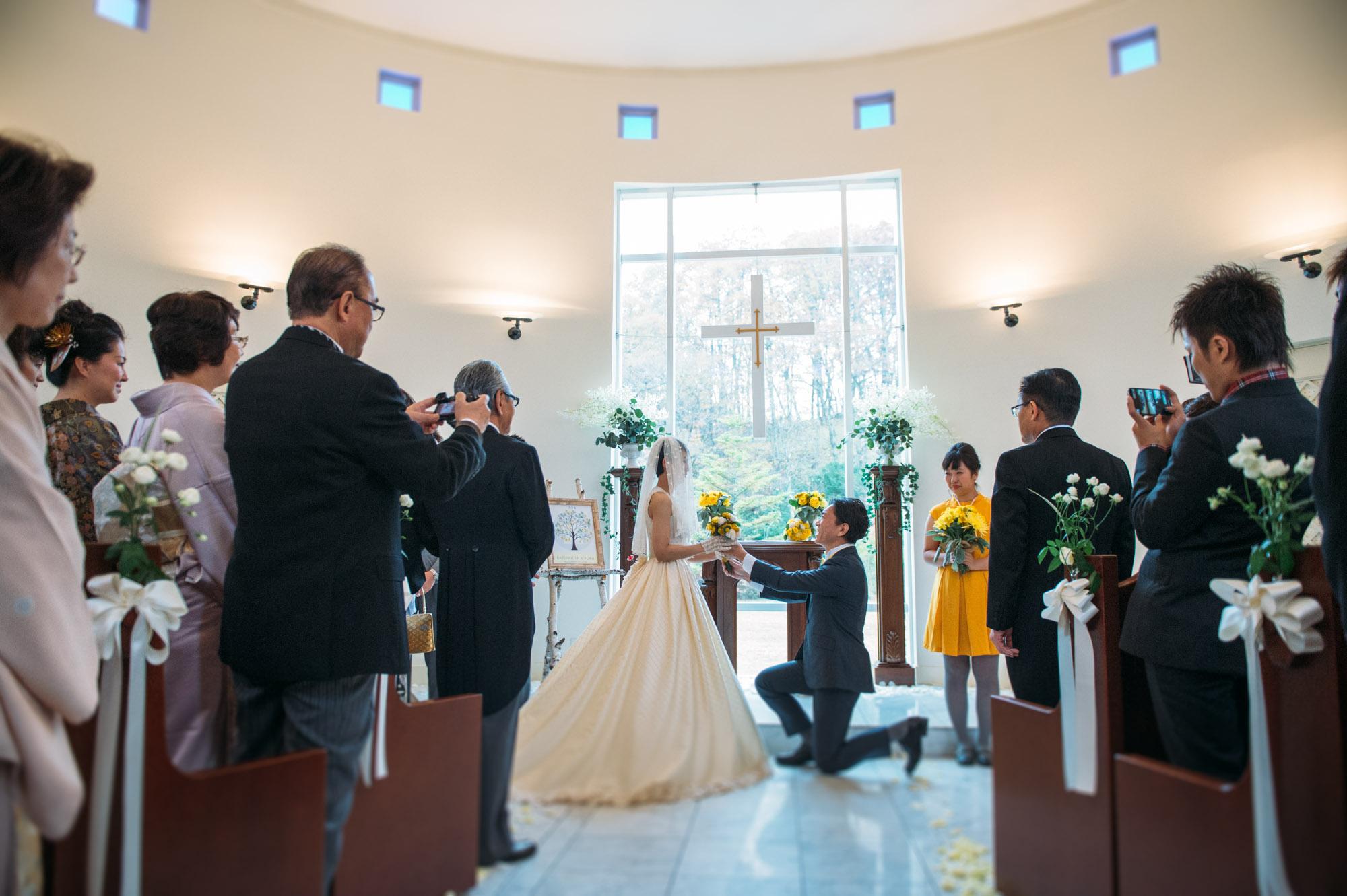 軽井沢結婚式104