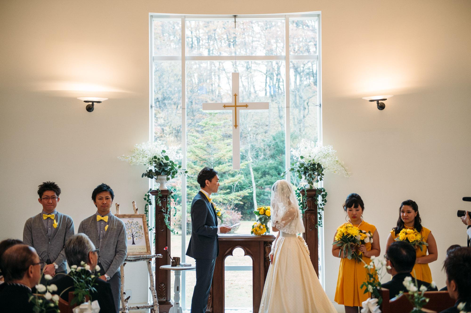 軽井沢結婚式106